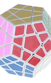 7099a 12 cores Megaminx QI Cubo Mágico - base branca