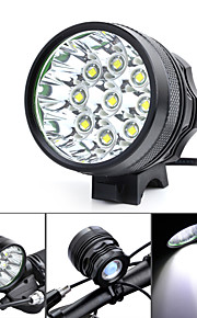Hovedlygter / Cykellys LED 3 Tilstand 4500-5500 Lumens Vanntett / Genopladelig / Nedslags Resistent / High Power Cree XM-L T6 18650