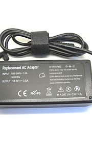 HP 500 510 520 530 540 550 620 625 cq515ための18.5V 3.5A 65ワットACラップトップの電源アダプタ充電器