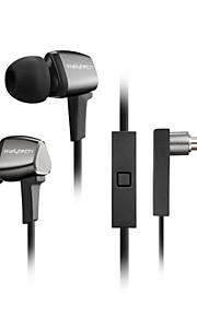 WALLYTECH WHF-128 headphones Wired Earbuds With Microphone for Media Player/Tablet/Mobile Phone