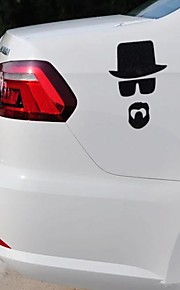 Car Stickers for  Gentlemen Car Styling