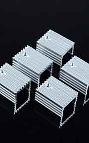 Heat sink 15 * 10 * 20MM / TO-220 Transistors And Other Special(5Pcs)