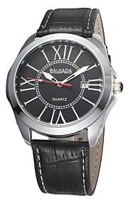 Relógio Elegante (Calendário/Resistente à Água) - Analógico - Quartz