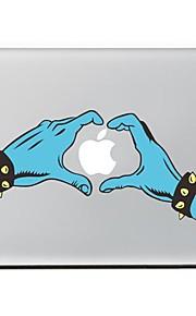 begge hender utforming dekorative hud klistremerke for MacBook Air / pro / pro med retina-skjerm