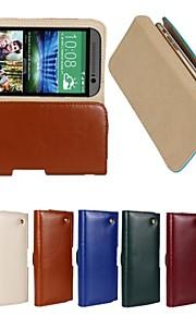 cubierta de la caja - HTC One(M8) - Cuero PU/Piel Genuina/Otro - Fundas  Completas/Bolsas/Otro - Diseño Especial/Otro -