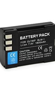 BLM-1 - Li-ion - Batterij - voorfor Olympus E-1 E-3 E-30 E-520 C-5060 Wide Zoom C-7070 Wide Zoom C-8080 Wide Zoom <br> C-5060 Wide Zoom,