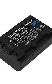 NP-FV50 - Li-ion - Batterij - voor Camcorder Battery for Sony DCR-DVD92 DCR-DVD92E DCR-DVD103 HDR-XR550/E, HDR-XR350/E - 7.4v/7.2v - ( V ) - 1050mAh-