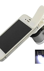 clip-on universal 65x microscópio para iPhone / iPad / Samsung / HTC / sony (3 x LR1130)
