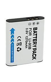 LI-90B/LI-92B - Li-ion - Batterij - voor for Olympus XZ-2 SH-50 Tough TG-1 TG-2 - 3.6V - ( V ) - 1270mAh - ( mAh )