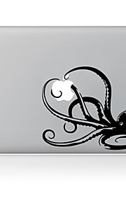 de octopus is prooi ontwerp decoratieve huid sticker voor macbook air / pro / pro met retina-display