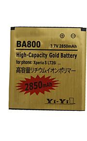 2850 - Sony vervang batterij - ba800 - Nee