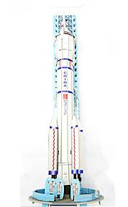 DIY raket 3d puslespil