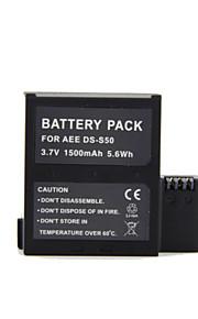 GOPRO - AEE DS-S50 - Li-ion - Batterij - voor AEE S50/ S51/ S70 /S71/D33 - 3.7V - ( V ) - 1500mAh - ( mAh )