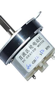 40 milímetros dc 12v 50 rpm alto torque caixa de velocidades do motor elétrico