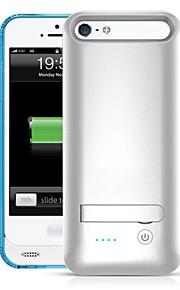 ifans ® mfi 2400mAh iphone5s Batteriefach externen Wechsel Backup-Power-Ladegerät Fall für iphone5 / 5s (farblich sortiert)