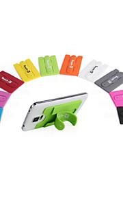 tocco mini supporto del basamento del telefono mobile universale con trasduttore auricolare silicone portatile riposare per telefono