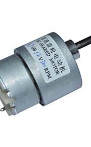 12v dc 200rpm mini-caixa de velocidades 12v motor elétrico dc 37 milímetros alto torque
