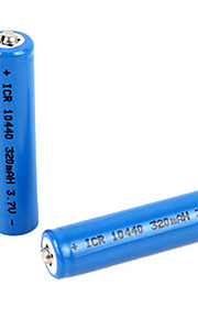 Li-ion - Aaa - Batterij - 320mAh - ( mAh ) - 2 - pcs