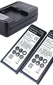 batería de repuesto - 3500mAh - Samsung - Samsung Galaxy Note 4 - Notne4 N9100 - Sí - USA/USB -