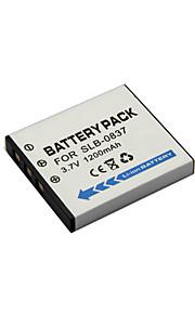 SLB-0837 - Li-ion - Batterij - voor for  Samsung  i5  i6  i50  i70  L50  L60  L73  L80  L150  L700  NV3  NV5  NV7 - 3.7V - ( V ) - 1200mAh