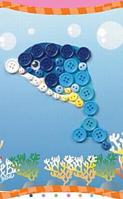mode DIY rangstige puslespil for børn tilfældig levering