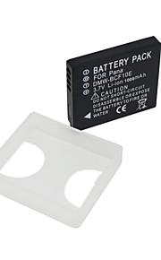 DMW-BCF10E - Li-ion - Batterij - voor for Panasonic  Lumix DMC-F3P  DMC-F3S  DMC-FH1 DMC-FH1GK  DMC-FH20  DMC-FH20K  DMC-TS4D DMC-TS3D -