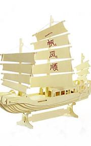 sejlads model pædagogisk DIY trælegetøj
