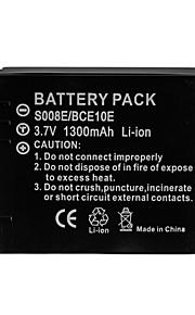 1300mAh camera batterij voor Panasonic DMW-bce10 / vw-VBJ10 / S008 / ricoh db70