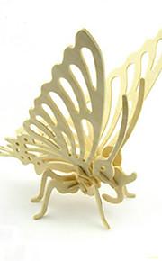 DIY sommerfugl puslespil