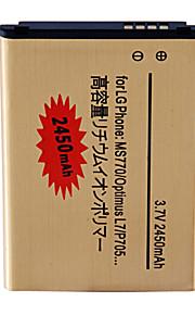 batería de repuesto - 2450 - LG MS770/Optimus L7/P705 44JH - No