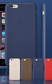 ursprungliga äkta läder tillbaka täcker fallet för iphone 6 (blandade färger)