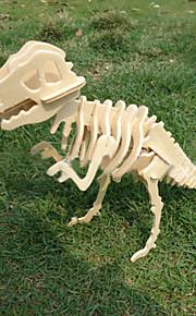 træ diy 3 d model af tyrannosaurus rex