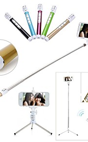 Bluetooth Remote Monopod Tripod Selfie Stick For iPhone 6 6 Plus 5 5S Samsung Galaxy S4 S5 4 Note 3 4 Smart Phones