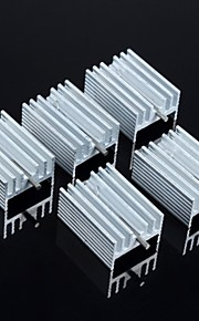Heat Sink 21 * 15 * 10MM (With Needle)5Pcs