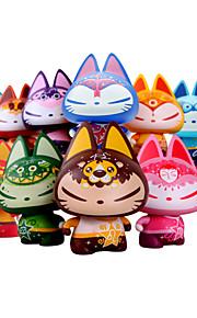 zhuaimao sumg brinquedo figura de ação de vinil gato: 12 constelações a uma pertence a você para painel do carro ornamento brinquedo