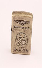 ahorn blad metal petroleum lighter