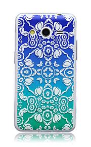 ehappy® di alta qualità moda modello caso molle di TPU per Samsung Galaxy Core 2 g355h / g3558 / g3559
