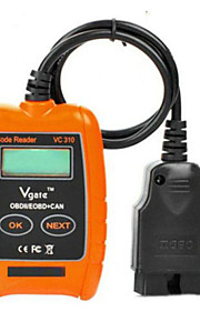 2015 Code Reader Supports All OBD2 Protocols Vgate VC310