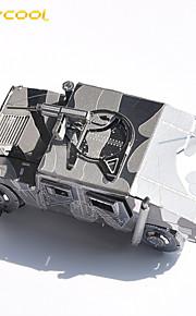 brinquedo hummer quebra-cabeça 3D puzzle de som do carro montagem de metal enigma modelo filhos adultos