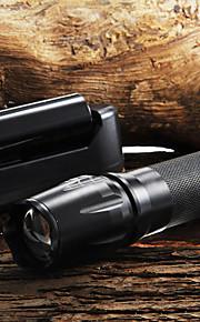 Nøgleringslommelygter LED 5 Tilstand 2200 Lumens Justerbart Fokus / Glidesikkert Greb Cree XM-L T6 18650 / AAA / 26650