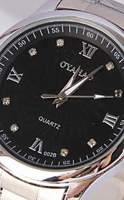 simples coleções de discos de diamante avançado relógio à prova d'água homens tira (cores sortidas)