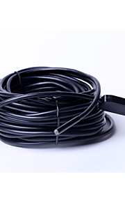 5.5mm wire diameter and dust the whole length of 15m waterproof camera, USB industrial endoscope