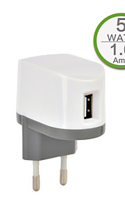 CE Certified Single USB Wall Charger, Europe Plug Face,5V 1A output, for iPhone 5/5s/5c iPhone 6/Plus iPhone 3/3G/3Gs