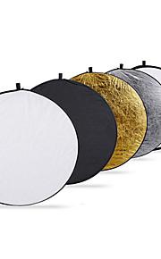Interfit 80cm 32-tommers 5-i-1 sammenklappelig multi-disc lys reflektor