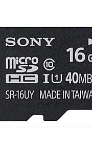 SONY 16GB TF(MicroSDHC)UHS-1(Class10) 40M/S  Flash Memory Card High Speed Genuine