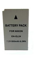 850mAh en-el24 camera batterij voor Nikon 1 J5