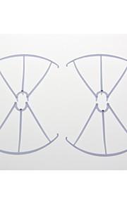 4stk x5c-03 klinge beskytter ramme reservedel til SYMA x5c rc quadrokopter helikopter drone