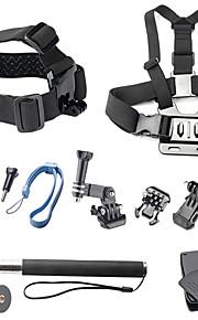 11-in-1 quente ao ar livre Acessórios para a câmera esportes kit para GoPro Hero 4/3 + / 3 / 01/02