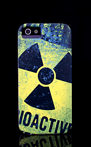 / iphone caso della copertura del modello di radiazione per il caso di iphone 4 4 s