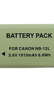 12L 1910mah kamera batteri til Canon G1X Mark II N100 mini x